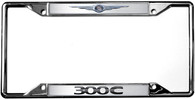 Chrysler Logo 300 C License Plate Frame - 6438DL
