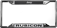 Jeep Rubicon License Plate Frame - 6440DL