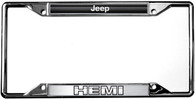 Jeep HEMI License Plate Frame - 6463DL