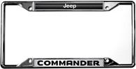 Jeep Commander License Plate Frame - 6480DL