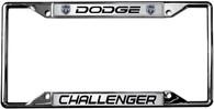 Dodge Challenger License Plate Frame - 6490DL