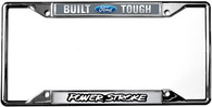 Built Ford Tough / Power Stroke License Plate Frame - 6502DL