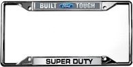 Built Ford Tough / Super Duty License Plate Frame - 6504DL