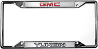 GMC Yukon License Plate Frame - 6606DL