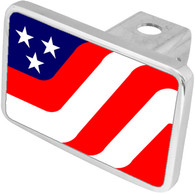 USA Flag 2 Hitch Cover - 8901XL-1