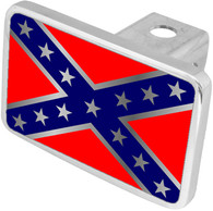 Rebel Flag Hitch Cover - 8904XL-1