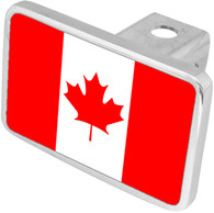 Canadian Flag Hitch Cover - 8999C3XL-1