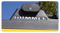 Hummer H2 - Roofrack Letter Inserts - 9531-UC
