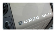 Ford Super Duty Dashboard Lettering Kit - 9560