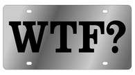 WTF? Novelty License Plate - LS1008