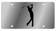 Golf Man Novelty License Plate - LS1016