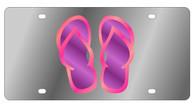 Flip Flops Novelty License Plate - LS1060