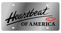 Chevrolet Heartbeat of America License Plate - 1311-1