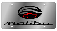 Chevrolet Malibu License Plate - 1316-1