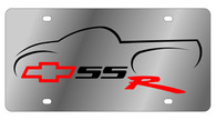 Chevrolet SSR License Plate - 1329-1