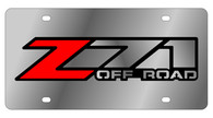 Chevrolet Z-71 Offroad License Plate - 1330-1