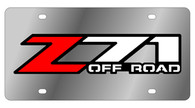 Chevrolet Z-71 Offroad License Plate - 1330-3