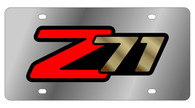 Chevrolet Z-71 License Plate - 1331-2