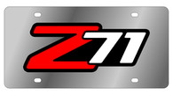 Chevrolet Z-71 License Plate - 1331-3