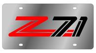 Chevrolet Z-71 License Plate - 1333-1