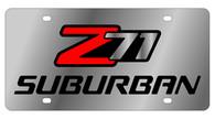 Chevrolet Z71 Suburban License Plate - 1338-1