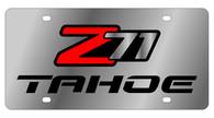 Chevrolet Z71 Tahoe License Plate - 1339-1