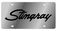 Corvette Stingray License Plate - 1343-1