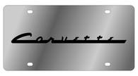 Corvette License Plate - 1344-1