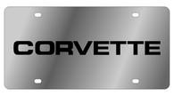 Corvette License Plate - 1354-1