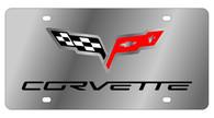 Corvette C6 License Plate - 1359-1