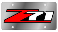 Chevrolet Z-71 License Plate - 1370-3
