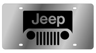 Jeep Grill License Plate - 1414-1