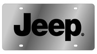Jeep License Plate - 1418-1