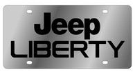Jeep Liberty License Plate - 1419-1
