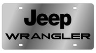 Jeep Wrangler License Plate - 1423-1