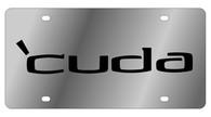 Dodge Cuda License Plate - 1433-1