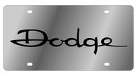 Dodge License Plate - 1435-1