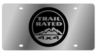 Jeep Trail Rated License Plate - 1445-1