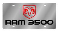 Dodge Ram 3500 License Plate - 1457-1