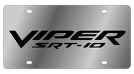 Dodge Viper SRT-10 License Plate - 1458-1