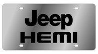 Jeep HEMI License Plate - 1463-1