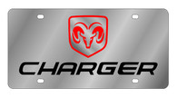 Dodge Charger License Plate - 1473-1