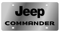 Jeep Commander License Plate - 1480-1