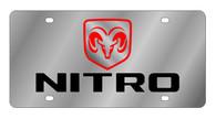 Dodge Nitro License Plate - 1481-1