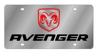 Dodge Avenger License Plate - 1483-1
