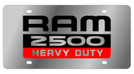 Dodge Ram 2500 Heavy Duty License Plate - 1484-1