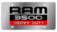 Dodge Ram 3500 Heavy Duty License Plate - 1485-1