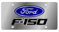 Ford F-150 Logo License Plate - 1505N-1