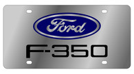 Ford F-350 License Plate - 1507-1