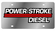 Ford Power Stroke Diesel License Plate - 1509-1